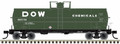 Atlas HO Scale 50ft 11,000 gallon Tank Car DOW SHPX 766