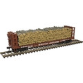 Atlas HO Scale Pulpwood Flat Western Maryland WM 401
