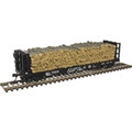 Atlas HO Scale Pulpwood Flat ACL #70219