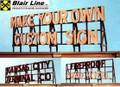 Blair Line DIY ( Do It Yourself ) CUSTOM SIGN-HO Scale  #2550