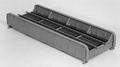 Micro Engineering HO Scale Thru Girder Bridge Kit Single Track #75-520
