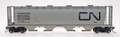 Intermountain HO Scale Cylindrical Covered Hopper CN Black Noodle CN371760