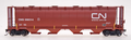 Intermountain HO Scale Cylindrical Covered Hopper Round Hatch CNIS 368064