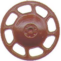 Kadee HO Scale Universal  Brake Wheels 8 pack Red Oxide #2033