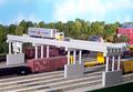 Rix HO Scale Modern Highway Overpass Railings