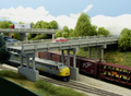 Rix HO Scale Early Highway Overpass Railings