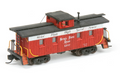 AMB LaserKits N Scal 1000 Series Wood Caboose Kit Nickel Plate Road