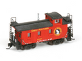 AMB LaserKits N Scale 25 Foot Wood Caboose Kit Great Northern