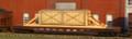AMB LaserKits HO Scale Wood Crate w/ Blocking Flat Car Load Kit #287