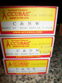 Accurail HO Scale 40ft Wood sides  Single Door Box Car 3 pack NICE!