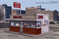 Blair Line N Scale Laser Kit  Yard Cafe /HiWay Cafe NEW Kit #1006