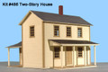 AMB LaserKits O Scale Two Story Section House Kit #486