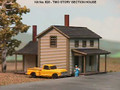 AMB LaserKits N Scale Two Story Section House Kit #628