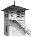 AMB LaserKits HO Scale interlocking Tower Kit #702