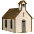 AMB LaserKits HO Scale Crossroads Church Kit #791