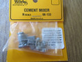 Wheel Works N Scale Vintage Cement Mixer  Truck Kit