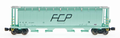 Intermountain Z Scale Cylindrical Hopper Trough Hatch Ferrocarril Del Pacifico FCP