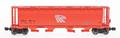 Intermountain Z Scale Cylindrical Hopper Round Hatch Potash Logo