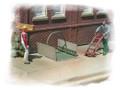 Bar Mills HO Scale Kit #401 Sidewalk Freight Elevator