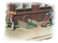 Bar Mills N Scale Kit #301 Sidewalk Freight Elevator