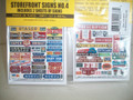 Blair Line HO Scale  Storefront Signs #4     #137