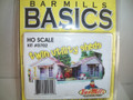 Bar Mills HO Scale Kit #702 Utility Shed 2 Pack
