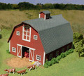 AMB LaserKits S  Scale Country Barn  Kit #87