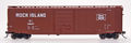 Intermountain HO Scale PS-1 50ft Single Door Boxcar Rock Island RI 30868