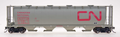 Intermountain HO Scale Cylindrical Covered Hopper CN Wet Noodle CN 377714