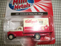 Classic Metal Works - HO Scale 41/46 Chevy Delivery Truck KELLOGG'S #30391