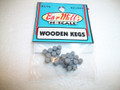 Bar Mills N Scale Wooden Kegs two clusters