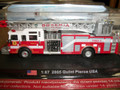 AmerCom HO Scale Pierce Velocity Quint 75ft Aerial and Pump truck