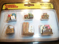 Woodland Scenics HO Scale Misc Freight 6 pieces A1953