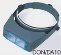 "OptiVisor with Lens 3.50 x 4"" Focal"