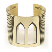 Brooklyn Bridge Cuff Brass