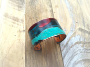 Medium Copper Patina Cuff