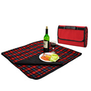 Picnic Blanket w/ Case Red