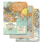 World Map Small Notebook