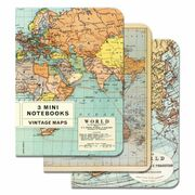World Map Small Notebook