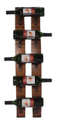 5 Bottle Wall Wine Rack
