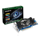 GIGABYTE GV-N550OC-1GI GeForce GTX 550 Ti (Fermi) 1GB 192-bit GDDR5 PCI Express 2.0 x16 HDCP Ready SLI Support Video Card