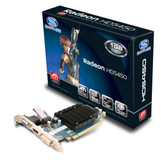 SAPPHIRE 100292DDR3L Radeon HD 5450 1GB 64-bit DDR3 PCI Express 2.1 x16 HDCP Ready Low Profile Ready Video Card