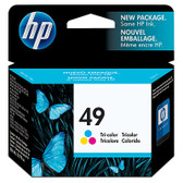 HP 49 Inkjet Print Cartridge 51649A Genuine