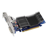 ASUS EN210 SILENT/DI/512MD2(LP) GeForce 210 512MB 64-bit DDR2 PCI Express 2.0 x16 HDCP Ready Low Profile Ready Video Card
