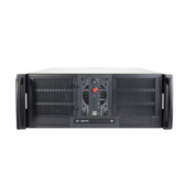 Chenbro 4U Open-Bay Rackmount case EATX, 3 X 5.25\ 6 X 3.5,2\ 2 x USB2.0, NO Power Supply
