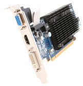 SAPPHIRE 100252HDMI Radeon HD 4550 512MB 64-bit DDR3 PCI Express 2.0 x16 HDCP Ready Low Profile Ready Video Card