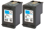 House Of Toners Remanufactured Ink Cartridge Replacement for HP 60 CC640WN (2 Black, 2-Pack)