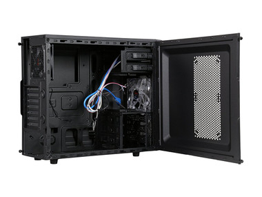 ATX Mid Tower Computer Case.