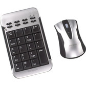 Targus Wireless Keypad & Laser Mouse Set AKM10US