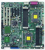 Supermicro MBD-H8DM3-2-O Socket 1207 (F) Opteron™ 2000 Series NVIDIA MCP55 Pro Extended ATX Motherboard